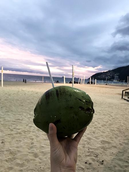 Kokos-na-plaży
